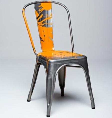 Veuve Clicquot Tolix Y Chair Photo