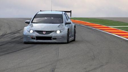 Honda desvela las primeras imágenes del Civic TC1 del Mundial de Turismos