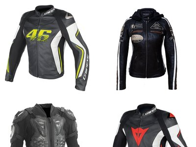 Descuentos de hasta el 30% en chaquetas de motocicleta Dainese, Fox o Urban Leather en Amazon. Envío gratis