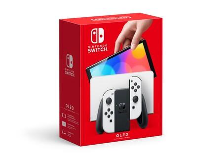 Nintendoswitcholedmodel Packageart White