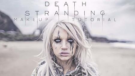 La imagen de Emma Stone en Death Stranding era falsa, se trataba de un tutorial de maquillaje