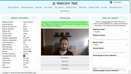 Info Webcam