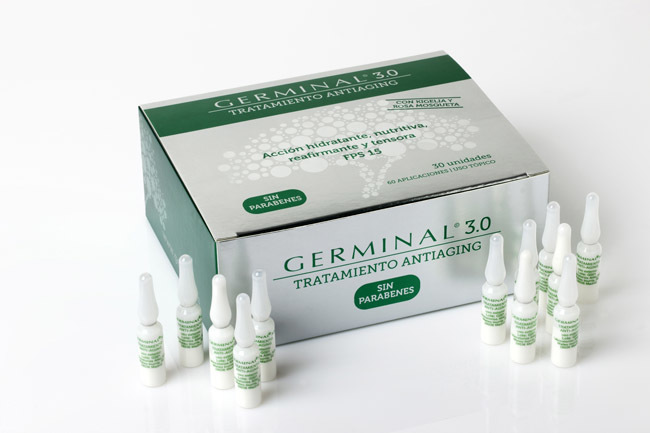 Visual Germinal antiedad ampollas