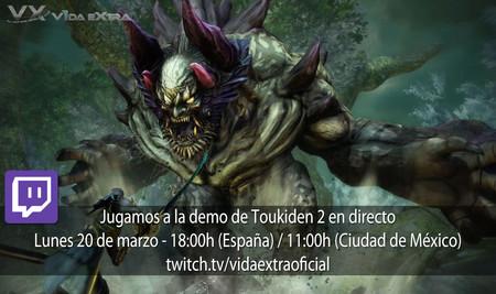 Streaming de Toukiden 2 a las 18:00h (las 11:00h en Ciudad de México) [finalizado]