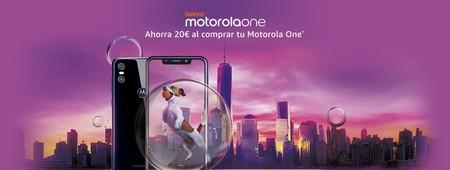 20 euros de descuento en el Motorola One, con doble cámara y actualizaciones de seguridad durante 3 años