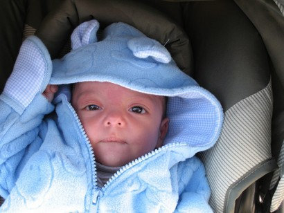 La foto de tu bebé: Una cálida mirada en un día invernal