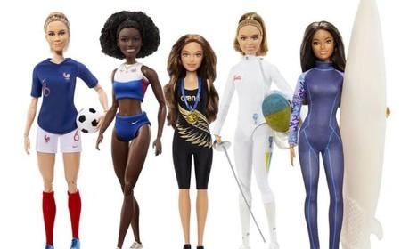 La nueva colección de Barbie homenajea a las mejores deportistas del mundo para celebrar el Día Internacional de la Mujer