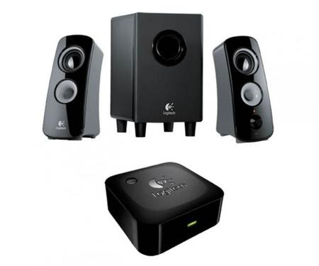 Logitech Speaker System Z323 & Bluetooth Wireless Adapter