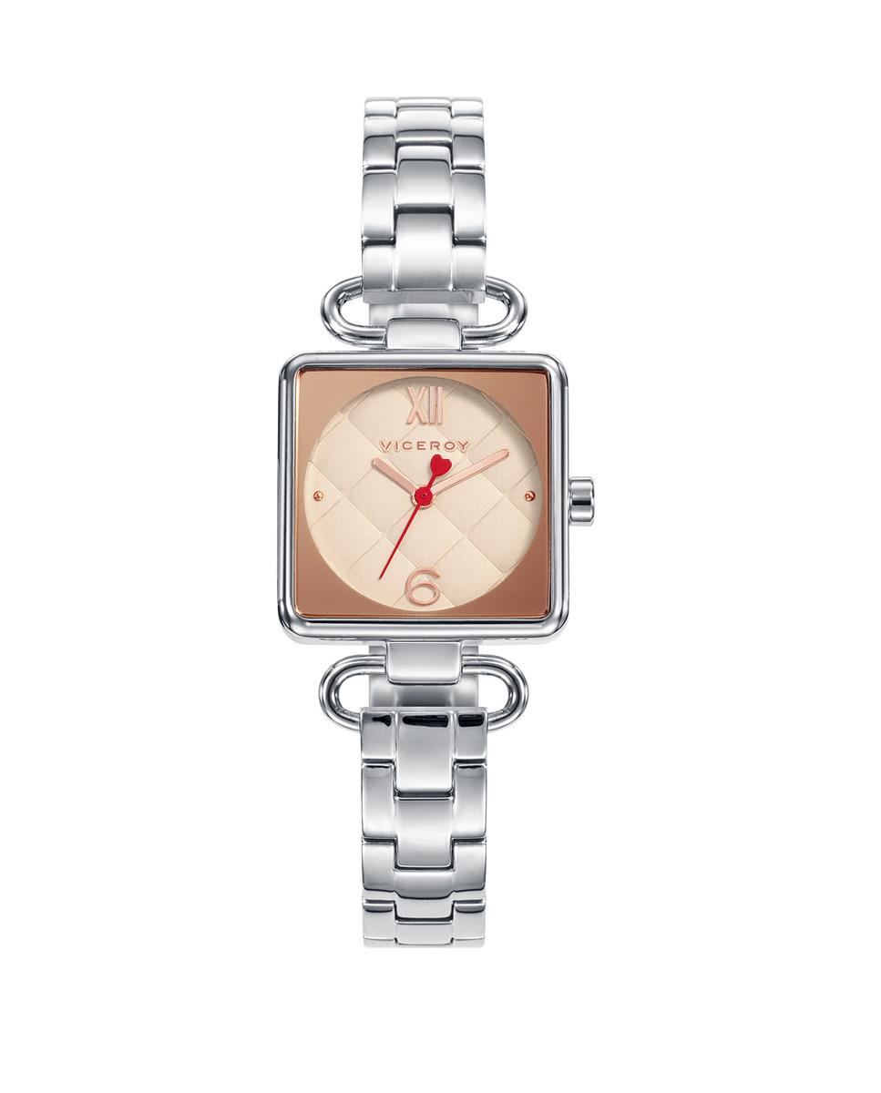 Reloj de mujer Viceroy de tres agujas de acero