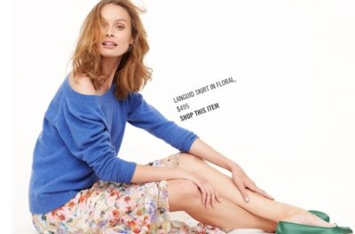 Catálogo J.Crew Otoño-Invierno 2011/2012: explosión de color en un mix de tendencias