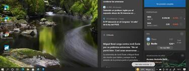 """Cómo desactivar el nuevo feed de """"Noticias e intereses"""" en la barra de tareas de Windows 10"""