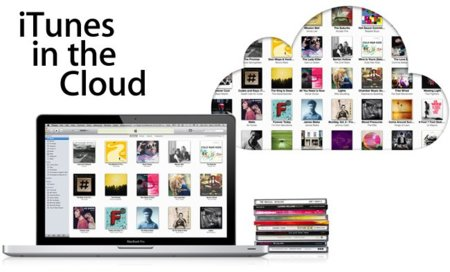 iTunes in the cloud en la nube