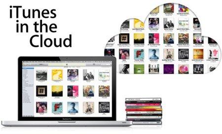 iTunes in the cloud en la nube