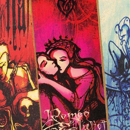 Marcapáginas artesanos de Shakespeare