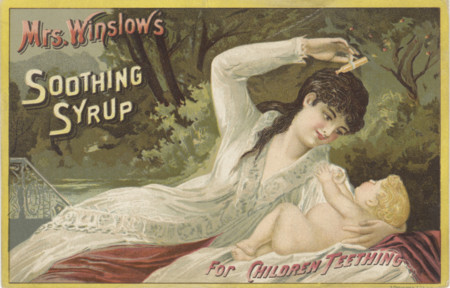 Mrs Winslow S Soothing Syrup 3093553886