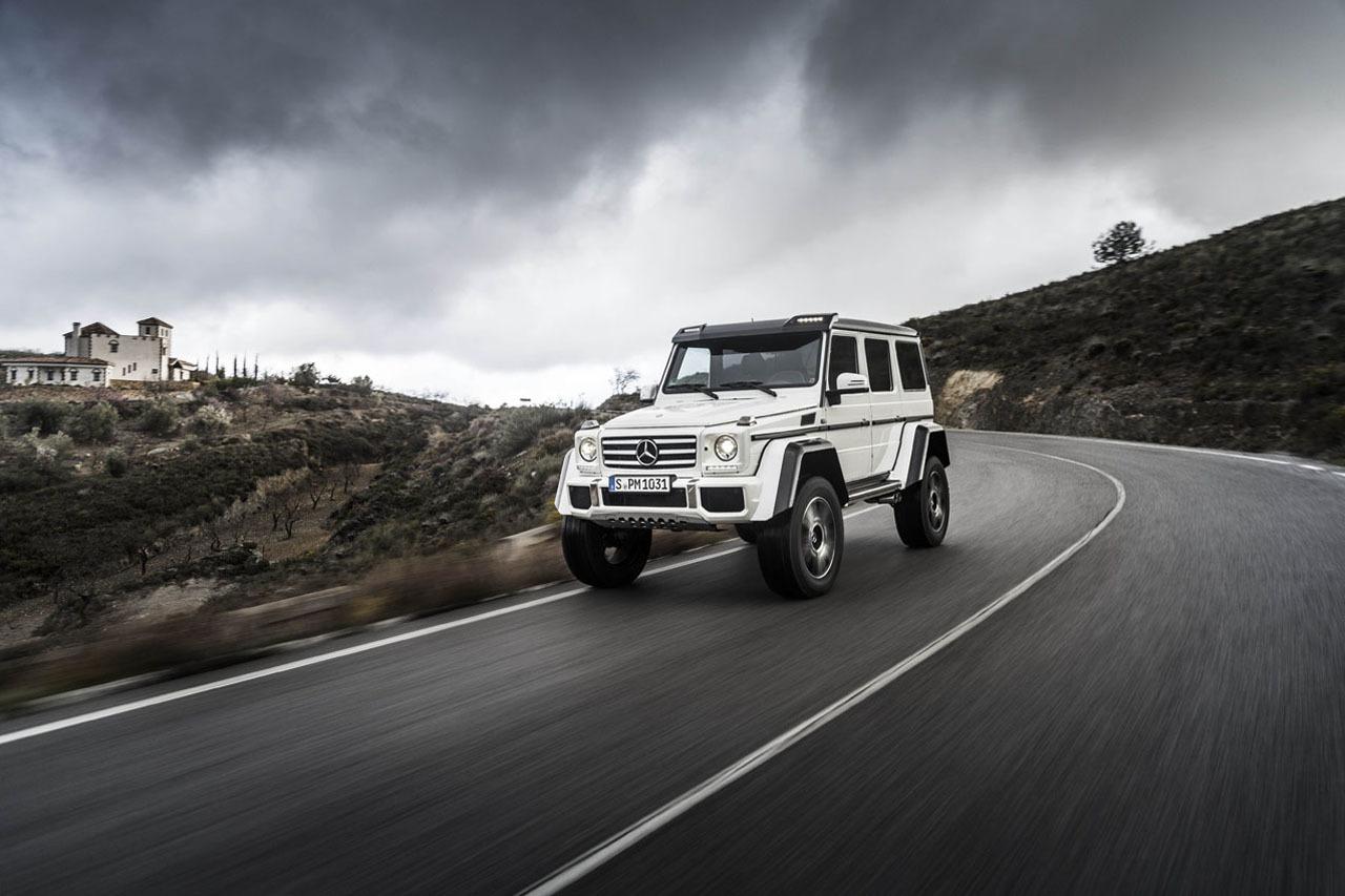 Foto de Mercedes-Benz G 500 4x4², toma de contacto (90/127)