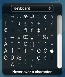 CharacterPal: Conoce como utilizar cualquier símbolo, desde Dashboard