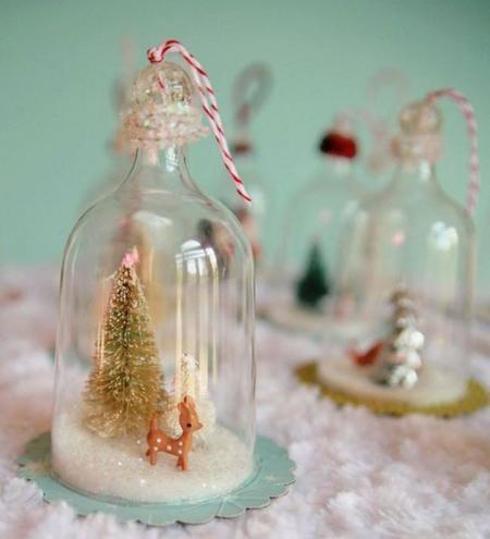 La semana decorativa: Centros para la mesa de Navidad y alguna sorpresa más