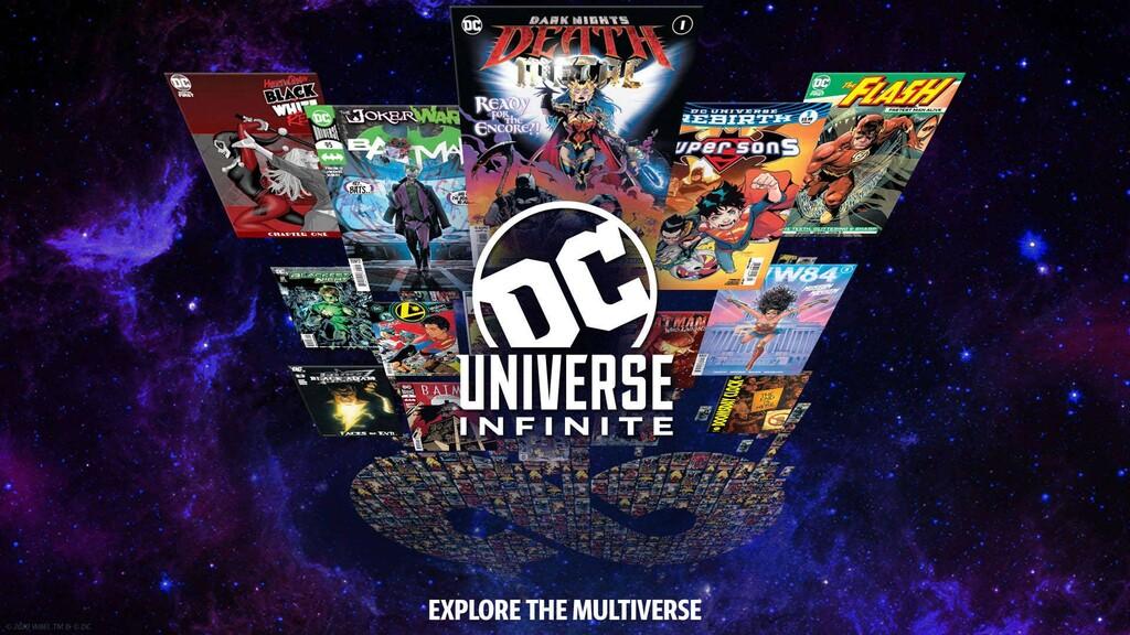 La editorial DC lanza un nuevo servicio de comics online bajo suscripción que estará disponible a nivel global a lo largo de 2021