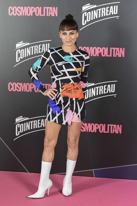 premios cosmopolitan 2017 alfombra roja look estilismo outfit Maria Escote