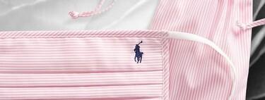 Ralph Lauren ha creado una colección de mascarillas con los tejidos de sus icónicas camisas