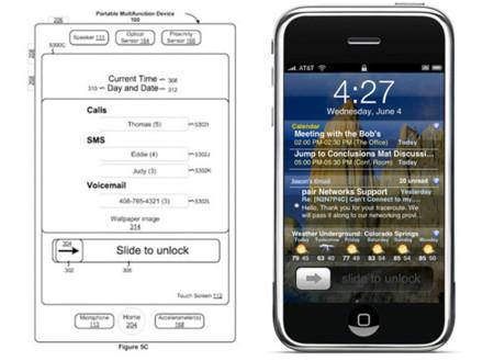 Apple patenta una pantalla de bloqueo con notificaciones para futuras actualizaciones del iPhone