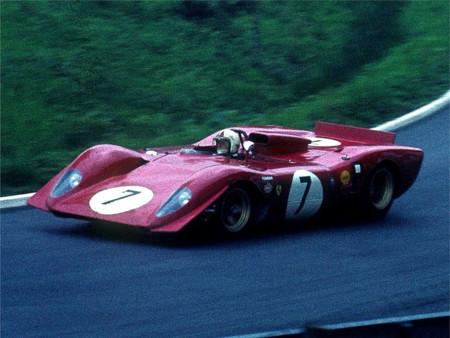 Amon Ferrari 312p 1969