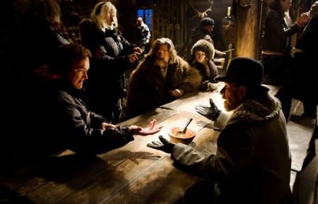 Tarantino habla con Tim Roth