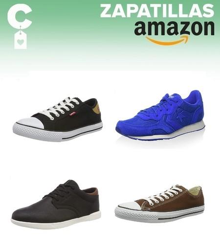 Chollos en tallas sueltas de zapatillas Converse, Levi's o Jack & Jones en Amazon