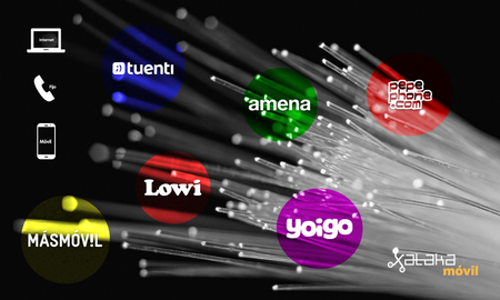 Duelo entre fibras baratas con móvil incluido: MásMóvil vs Pepephone vs Amena vs Lowi vs Tuenti