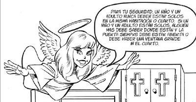 La diócesis de NY lucha contra la pederastia con un cómic