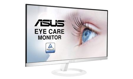 En PcComponentes tienes más barato el estilizado ASUS VZ239HE-W, por 105 euros
