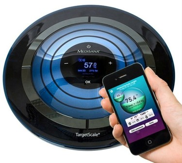 Medisana, una báscula futurista con Bluetooth