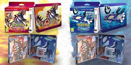 ¿Pokémon Alfa Zafiro y Rubí Omega con caja metálica? Póngame tres de cada