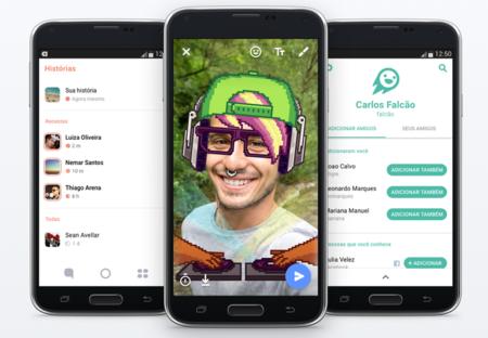 Facebook presentó Flash, una copia de Snapchat enfocada en mercados emergentes