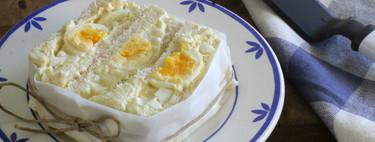 Sándwich de ensalada de huevo, la receta de un restaurante americano que arrasa en Instagram
