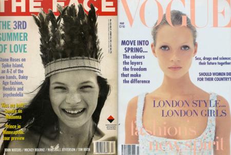 Kate Moss: la modelo icónica de icónicas portadas