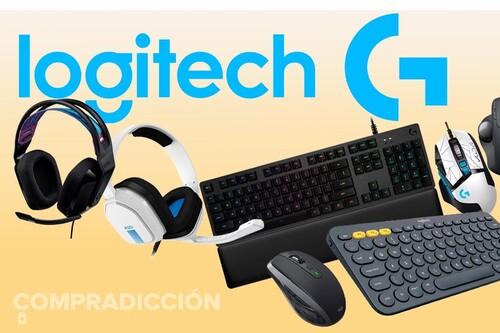 11 ofertas en periféricos Logitech para jugar y trabajar: Amazon tiene los mejores precios en auriculares y ratones gaming o en teclados para trabajar y para el ocio