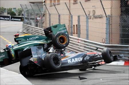Trulli Chandok Monaco F1 2010