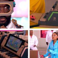 Ariana Grande y el equipo de Jimmy Fallon han demostrado que se puede tocar con Nintendo Labo