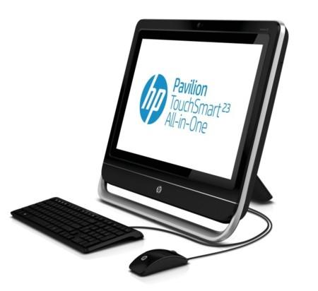 HP Pavilion 23 TouchSmart, un todo en uno táctil y asequible