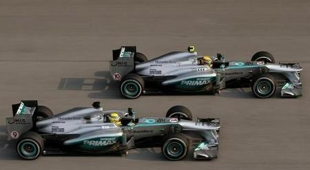 Pirelli y Mercedes AMG la lían