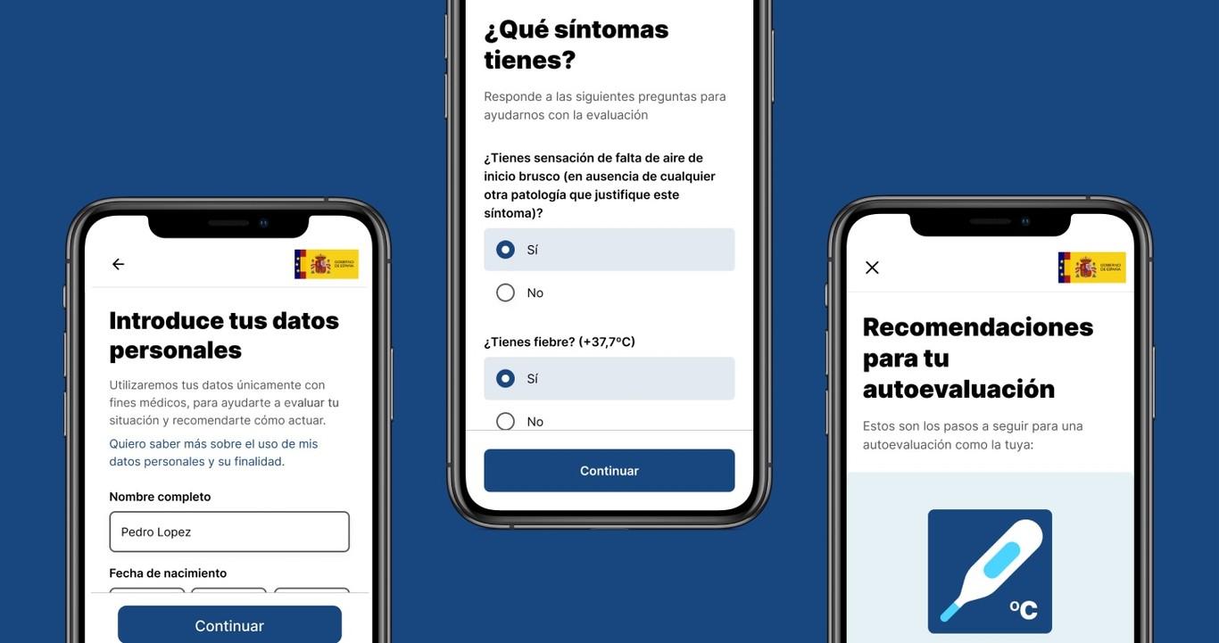 AsistenciaCovid19 será de código abierto y mantenida por Telefónica: el Gobierno publica todos los detalles de su aplicación sanitaria oficial