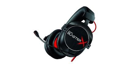 ¿Necesitas unos nuevos auriculares gaming? Los Sound BlasterX H7 Tournament Edition de Creative, hoy en Amazon, están a 126,42 euros