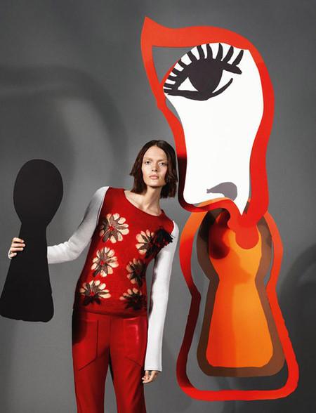 Sonia Rykiel rinde homenaje a la edad de oro de la publicidad francesa en su nueva campaña