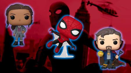 'Spider-Man: No Way Home': Ya puedes comprar los Funkos especiales de Doctor Strange, Ned y M.J. en Amazon