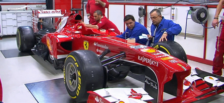 Así se decora el Ferrari F138