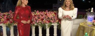 Los looks de las campanas 2021: del glamour de Ana Obregón y Anna Igartiburu al vestido edredón de Cristina Pedroche