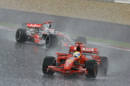Massa Alonso Nurburgring F1 2007