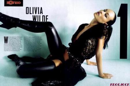 Olivia Wilde, la más bella para Maxim